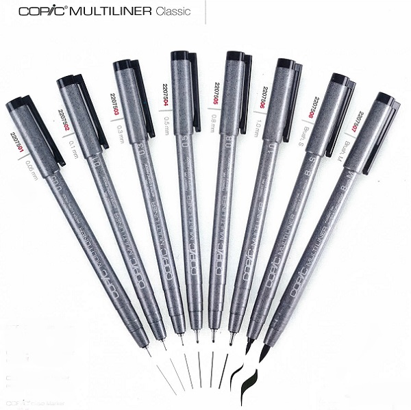 COPIC MULTILINER CLASSIC SET B