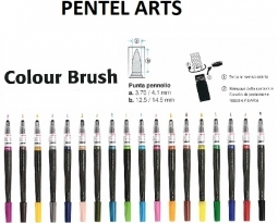 COLOUR ART PENTEL BRUSH
