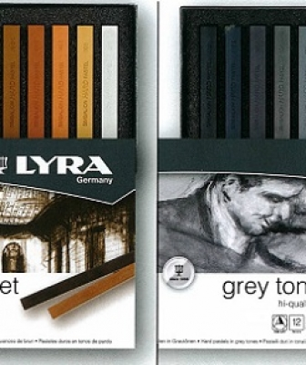 CARRE' IN CONFEZIONE LYRA BROWN E GREY